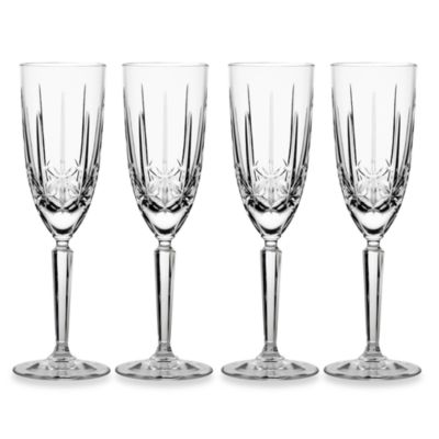 Marquis® by Waterford Sparkle 8 1/2-Ounce Flutes (Set of 4)