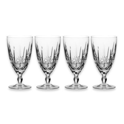 Marquis® by Waterford Sparkle 10-Ounce Iced Beverage Glasses (Set of 4)