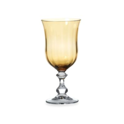 Mikasa® French Countryside 15 oz. Goblet in Amber