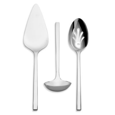 Vera Wang Wedgwood® Polished 3-Piece Serving Set