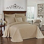 King Charles Matelasse Birch Bedspread, 100% Cotton