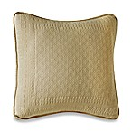 King Charles Matelasse 18-Inch x 18-Inch Decorative Pillow in Birch