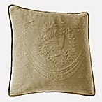 King Charles Matelasse 20-Inch x 20-Inch Decorative Pillow in Birch