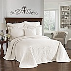 King Charles Matelasse Pillow Sham in Ivory