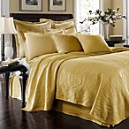 King Charles Matelasse Sunshine Coverlet, 100% Cotton