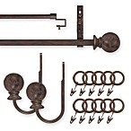 Unique Ball Brown Decorative Window Hardware
