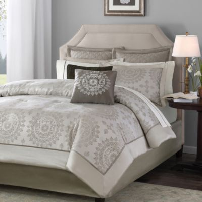 Tiburon Queen 12-Piece Bedding Set