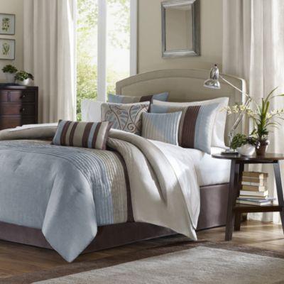 Blue King Bed Comforter Sets