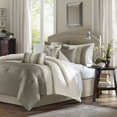 Amherst Natural Comforter Set 7-Piece Set