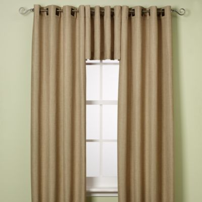 Reina 84-Inch Grommet Window Panel in Sand