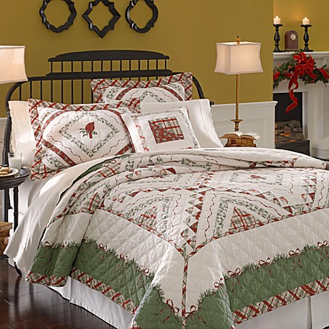 Lenox® Winter Greetings Quilt and Accessories