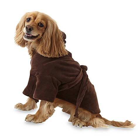 Microdry® Ultimate Luxury Medium Dog Robe in Chocolate