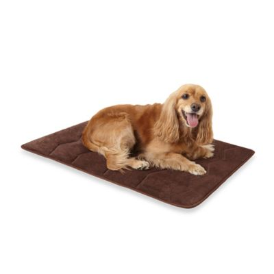 Microdry® Ultimate Luxury Memory Foam 34-Inch x 22-Inch Crate Mat