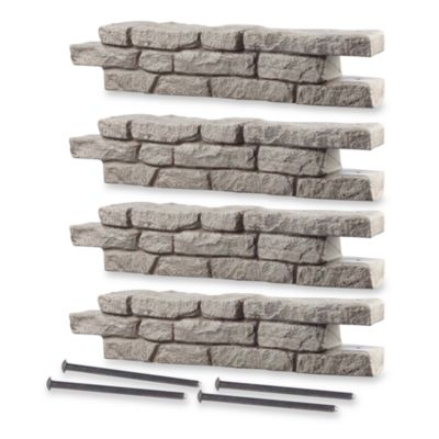 RockLock 4-Pack Border System in Straight Section