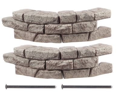 RockLock 2-Pack Border System in Curved Section