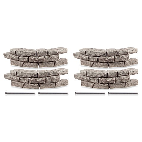 RockLock 4-Pack Border System Curved Section