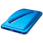 Paper Recycling Bin Lid in Blue