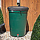 25 Gallon Water Collection Barrel in Green