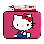 Hello Kitty 12-Inch Neoprene Sleeve Case for Netbooks in Pink