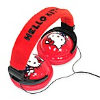 Hello Kitty® Foldable Plush Headphones
