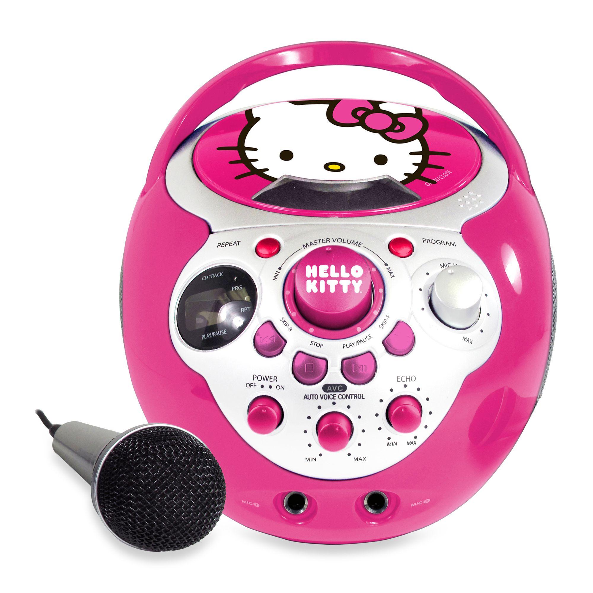 Hello Kitty Karaoke Car Hello Kitty® cd g Mini Karaoke
