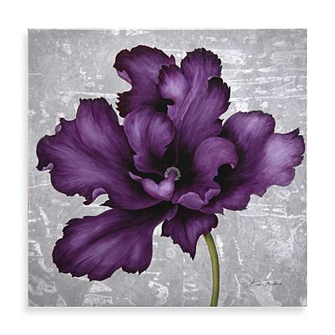 Plum Flower Wall Art Ii Www Bedbathandbeyond Com