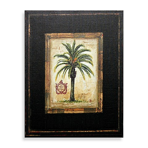 Buy Decorative Tropical Palm Tree Wall Art Mirrors Set Of