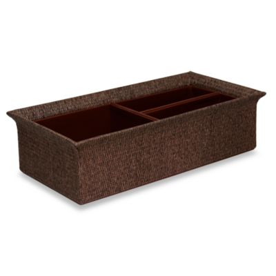 Mandalay Natural 14-Inch Divided Tray