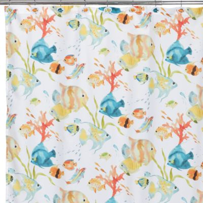 Rainbow Fish Shower Curtain