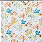 Rainbow Fish 72-Inch x 72-Inch Shower Curtain