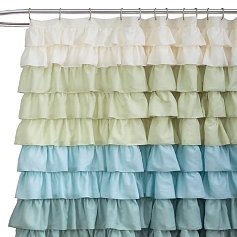 ruffle multi 72 inch x 72 inch shower curtain bed bath