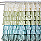 Ruffle Multi 72-Inch x 72-Inch Shower Curtain