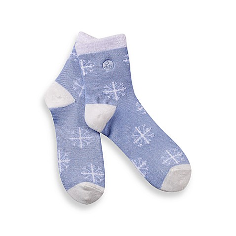 Pro-Organic™ Thermal Socks with Shea Butter Moisture™ - Snowflakes