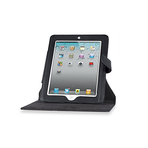 Convertible Rotating Portfolio Case for the iPad2®