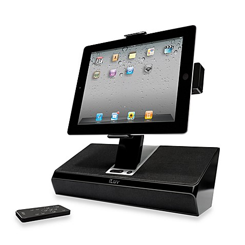 iLuv® Stereo Speaker Dock for iPad/iPhone/iPod