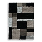 Orian Big City Aston Rectangle Rug in Black