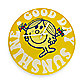 Little Miss Sunshine Good Day Wall Clock