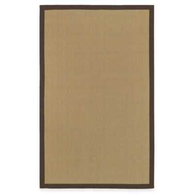 Halden Soho Border 5-Foot x 8-Foot Area Rug in Beige/Brown