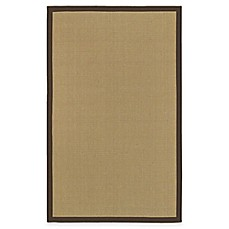 Halden Border Area Rug in Beige/Brown