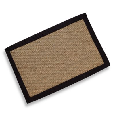 Modena Village Collection Rug in Beige/Black