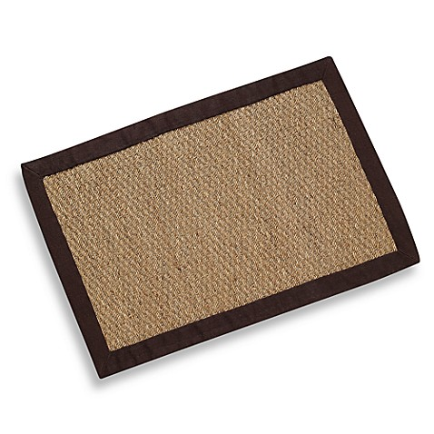 Modena Village Collection Rug 5-Foot x 8-Foot in Brown