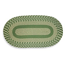 Cambridge Braided Rug in Sage