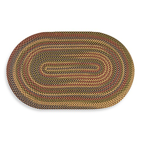 Natural Monticello Braided Rug