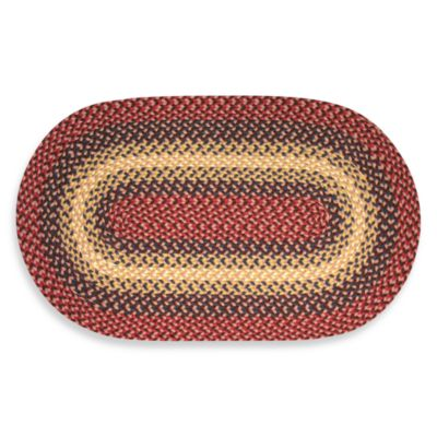 Cranberry Westerly Braided Rug