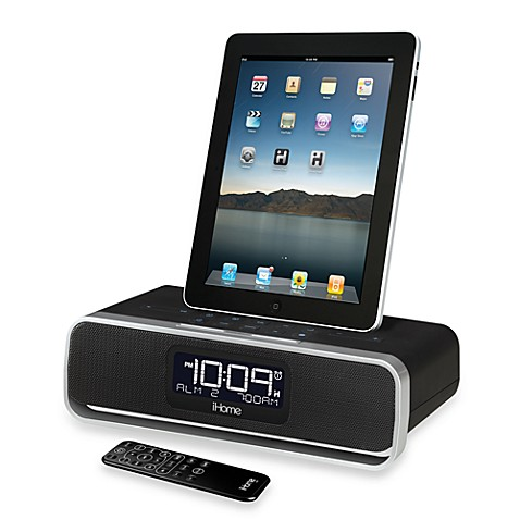 ihome id92 alarm clock radio app enhanced bed bath beyond. Black Bedroom Furniture Sets. Home Design Ideas