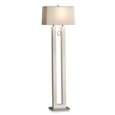 Nova Lighting White Earring Floor Lamp