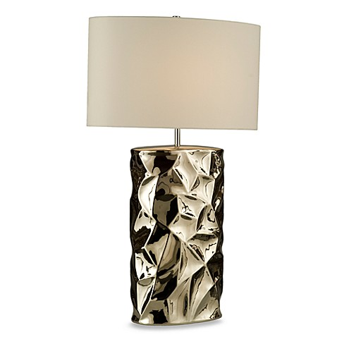 NOVA Lighting Cera 100-Watt Table Lamp in Brushed Nickel