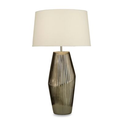 NOVA Lighting Bias Table Lamp in Brushed Nickel