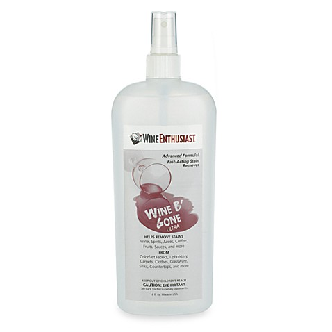 Wine Enthusiast® 16 oz. Wine B' Gone Stain Remover Spray