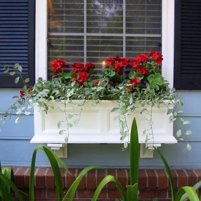 Mayne Fairfield 3-Foot Window Box in White